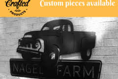 Custom Sign - Nagel Farm Truck